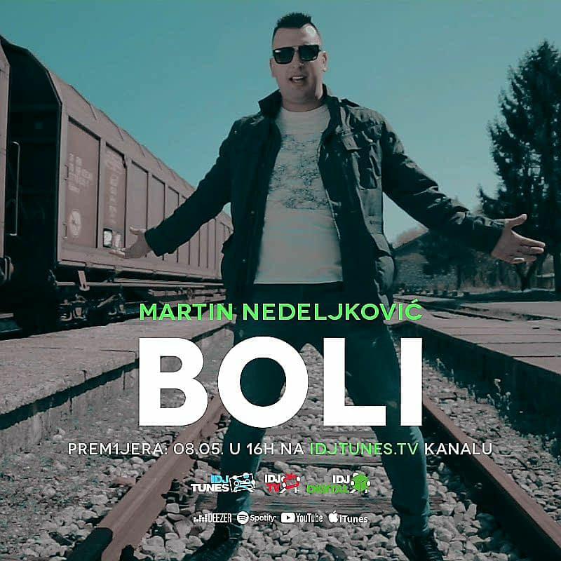 """Photo of Novi spot Martina Nedeljkovića za pesmu """"Boli"""" ugledao svetlost dana"""