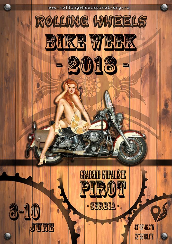 "Photo of Moto skup u Pirotu – ""Rolling Wheels Bike Week 2018"" – PROGRAM manifestacije"
