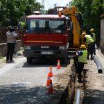 Radovi u Jastrebačkoj ulici, nov vodovod pa nov asfalt