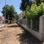 Uredjuju se trotoari kod Gimnazije u ulici Srpskih vladara