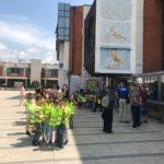 Pirotski mališani iz Predškolske ustanove i školarci učili o bezbednosti u saobraćaju