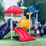 """Novo dečje igralište u dvorištu vrtića """"Crvenkapa"""""""
