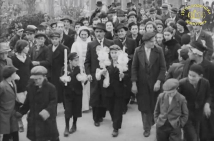 Photo of Pogledajte snimak svadbe u Pirotu iz 1937. godine koji se čuva u arhivu Jugoslovenske kinoteke