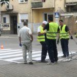Obeležavanje horizontalne signalizacije u gradu