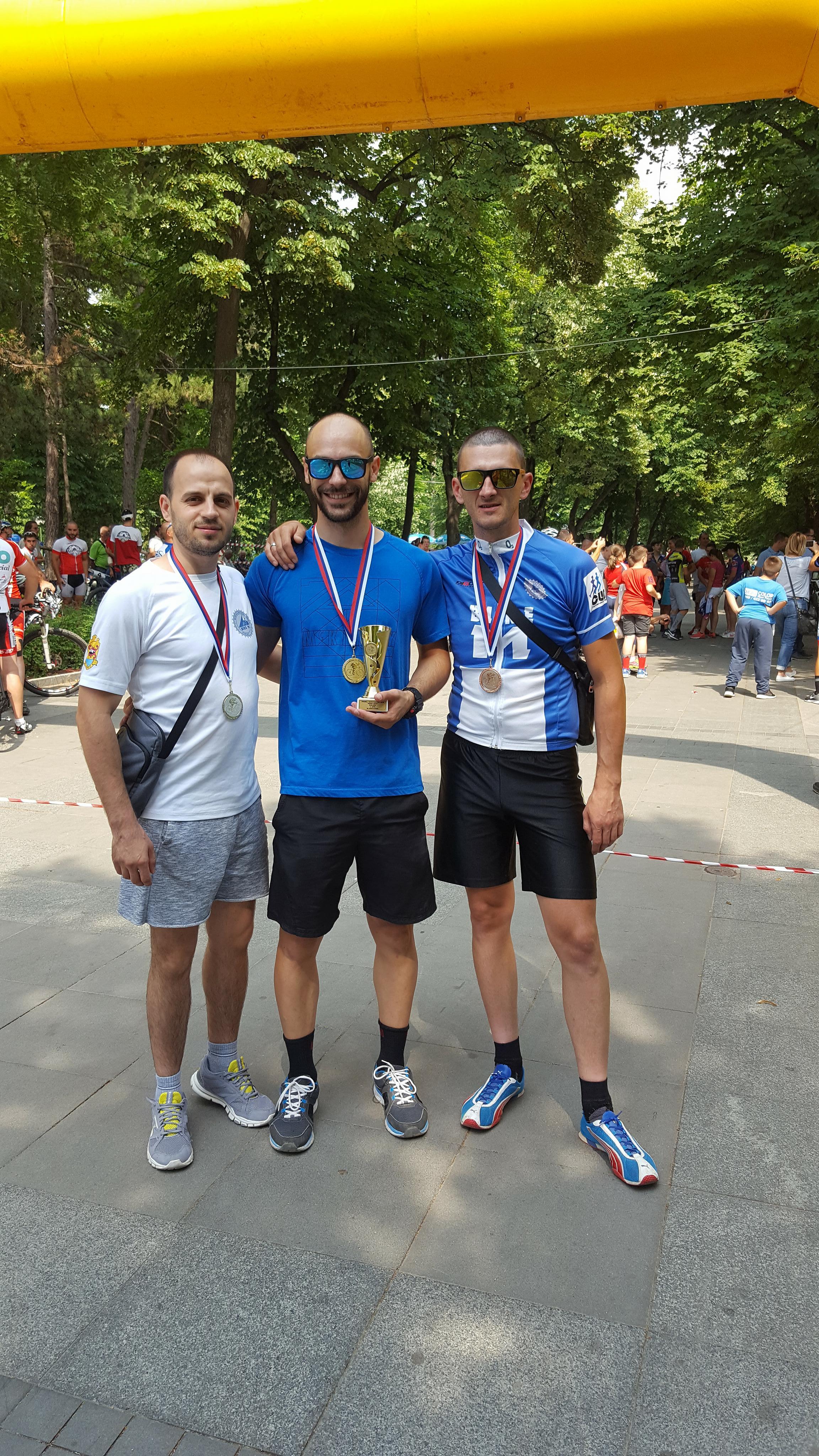Photo of Zlato, srebro i bronza za bicikliste na Trofeju Konstantina u Niškoj Banji