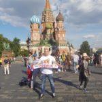 Atmosfera u Moskvi pred usijanjem - večeras meč decenije za srpski fudbal VIDEO