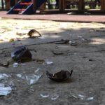 SRAMOTA: Vandali divljali na novom dečjem igralištu