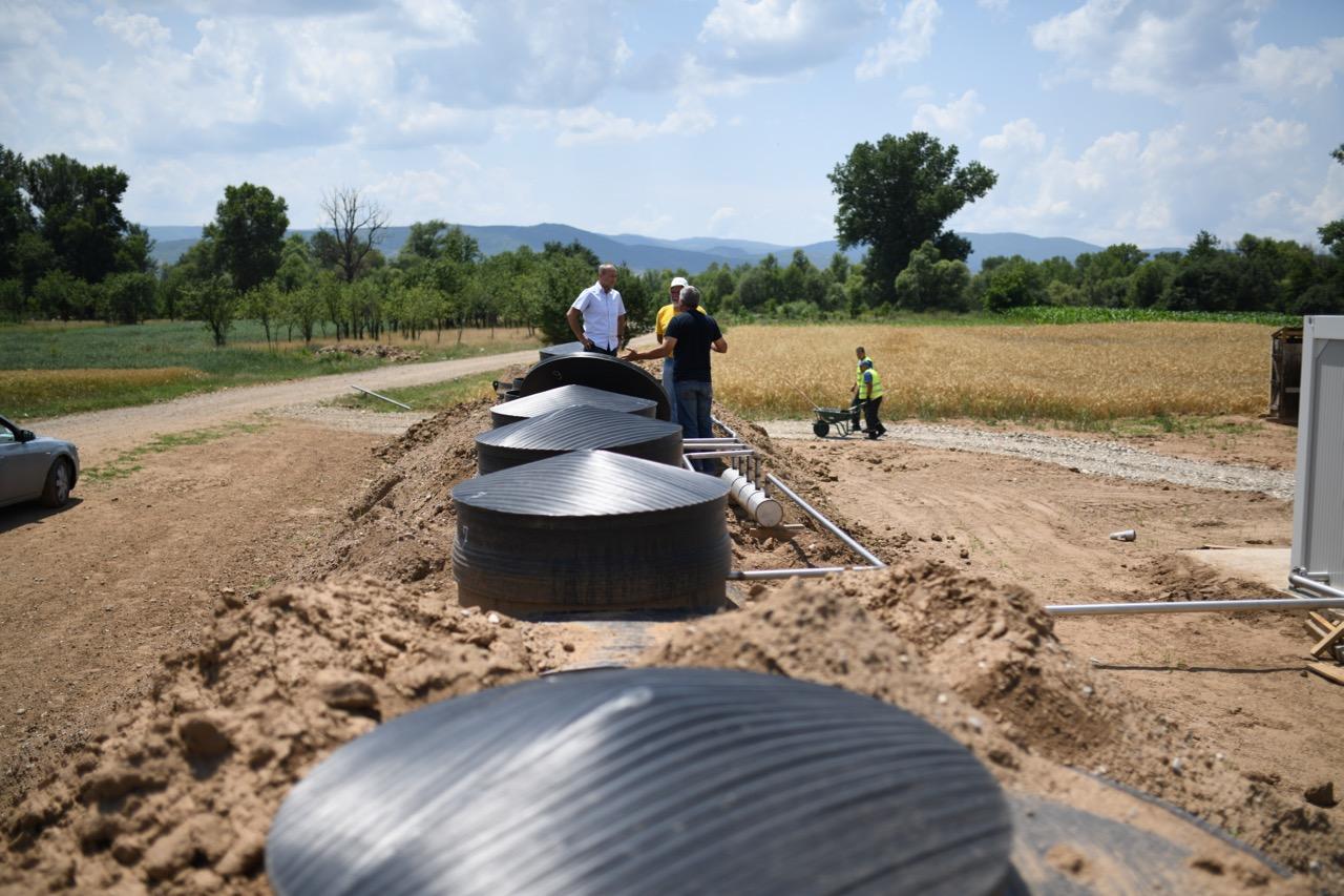 Photo of Gradi se postrojenje za prečišćavanje otpadnih voda kod Izvora, iduće godine selo dobija kanalizaciju