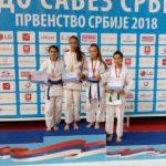 Pirotske džudistkinje uspešne na Prvenstvu Srbije - bronza za Milu Lilić