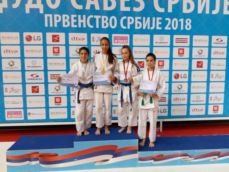 Photo of Pirotske džudistkinje uspešne na Prvenstvu Srbije – bronza za Milu Lilić