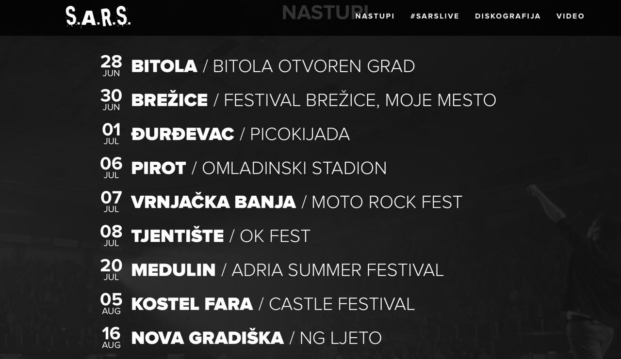 Photo of S.A.R.S. u Pirotu nastupa 6. jula u okviru Pirotskog kulturnog leta