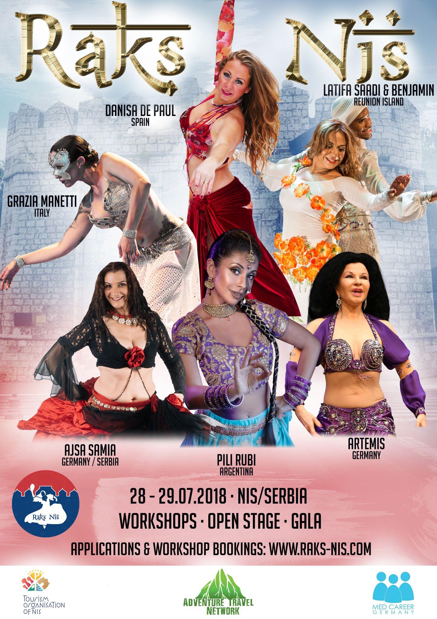 Photo of Međunarodni festival orijentalnog plesa u Nišu
