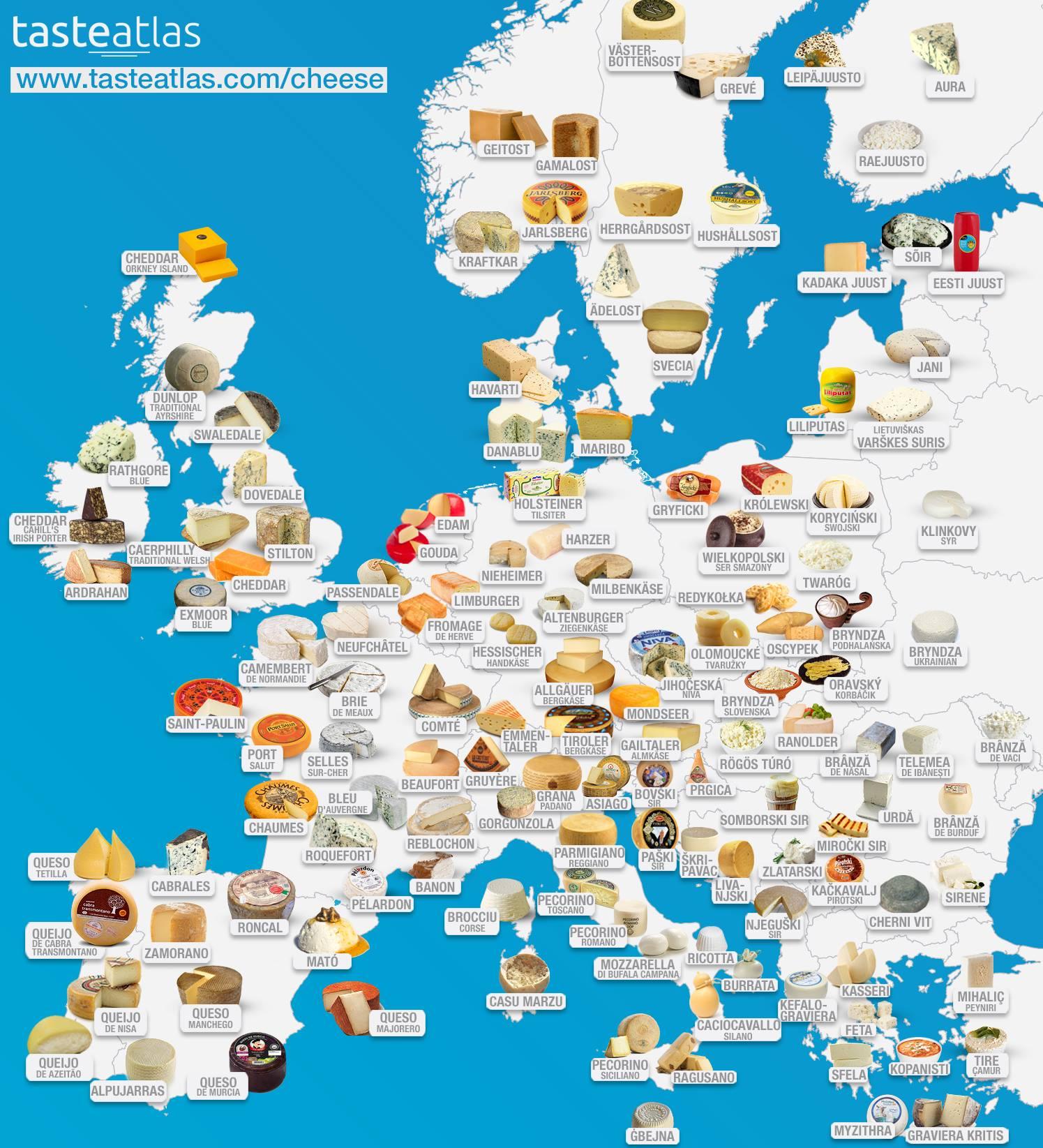 Photo of Pirotski kačkavalj na evropskom atlasu ukusa