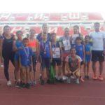 Osam medalja za atletičare