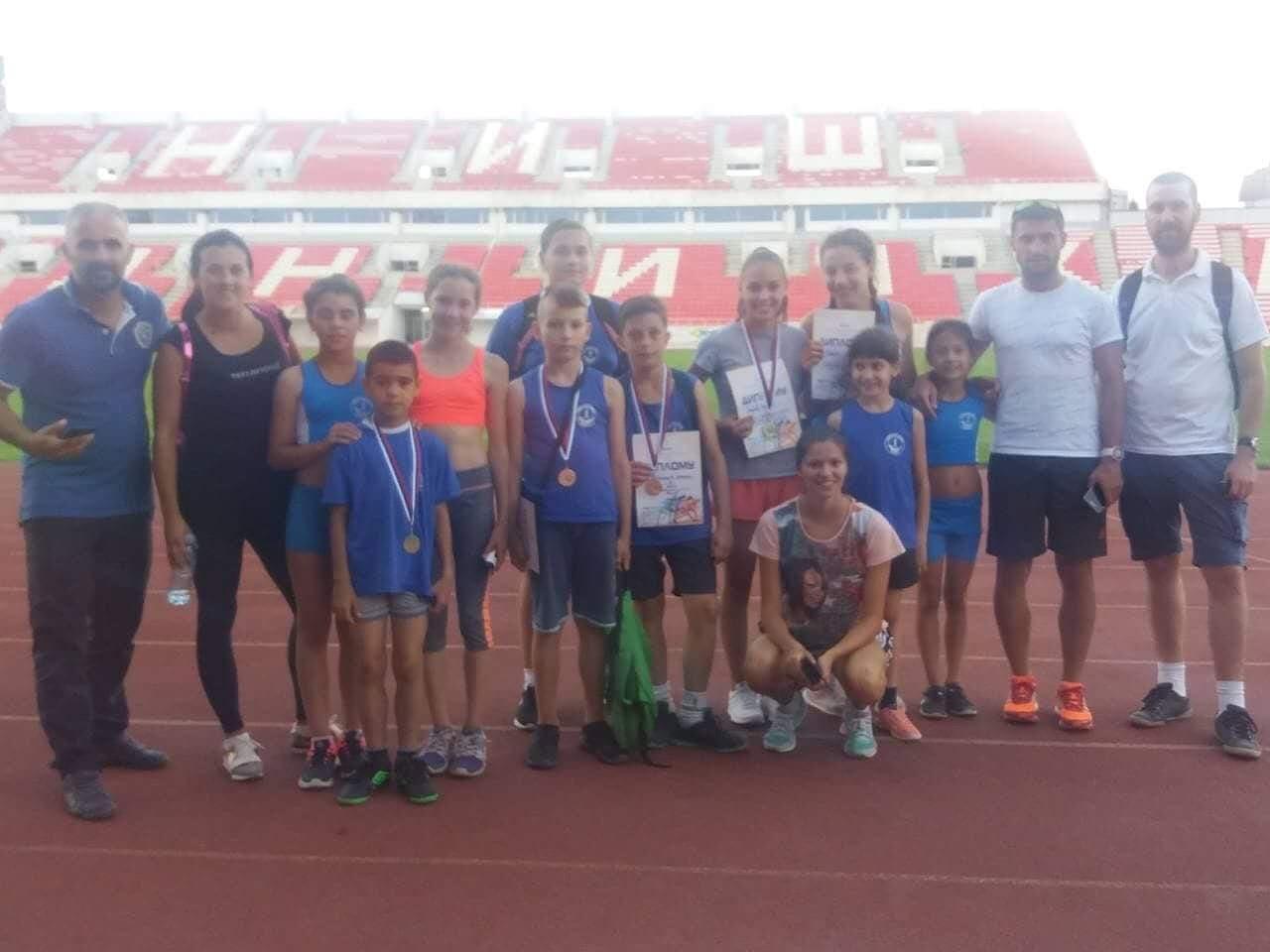 Photo of Osam medalja za atletičare