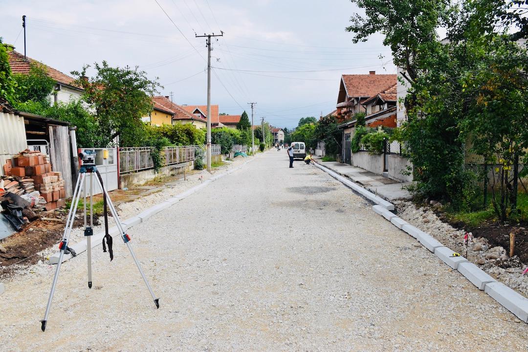 Photo of U toku rekonstrukcija ulice Nosioca albanske spomenice