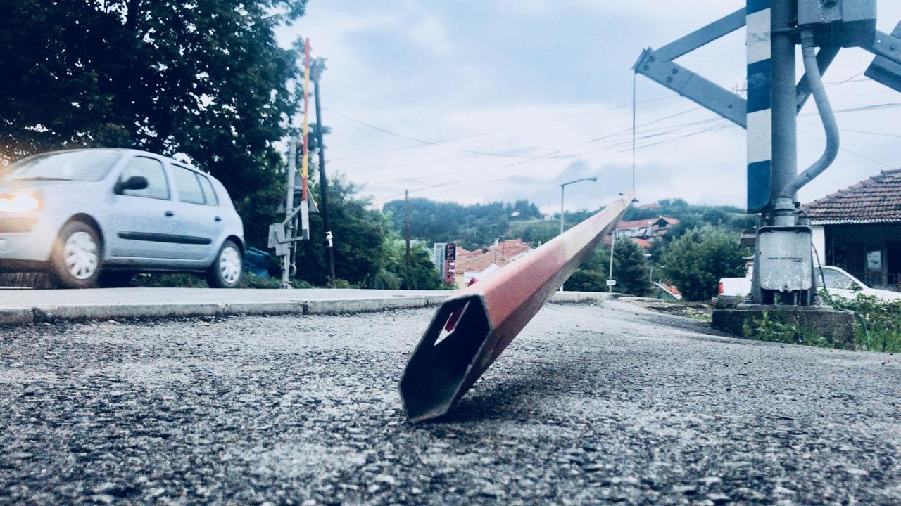 Photo of OPASNO: Pružni prelaz u ulici Kapetana Karanovića ponovo nebezbedan