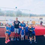 Pirotske atlete sa Dragutinom Topićem, Venelinom Venevom, legendama atletike