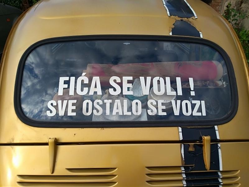 Photo of Fića se voli, ostalo se vozi!