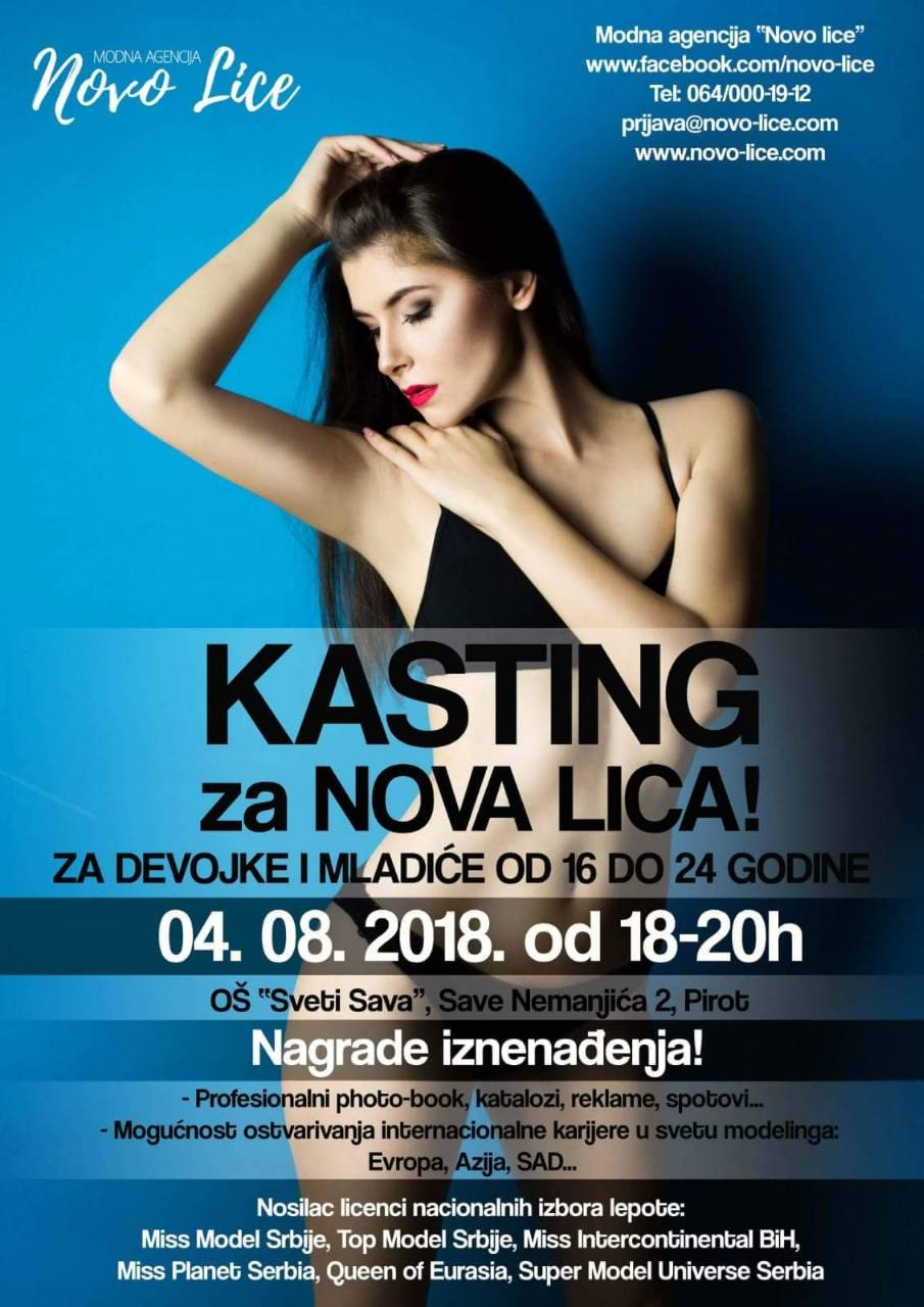 Photo of Kasting za buduće foto-modele u Pirotu