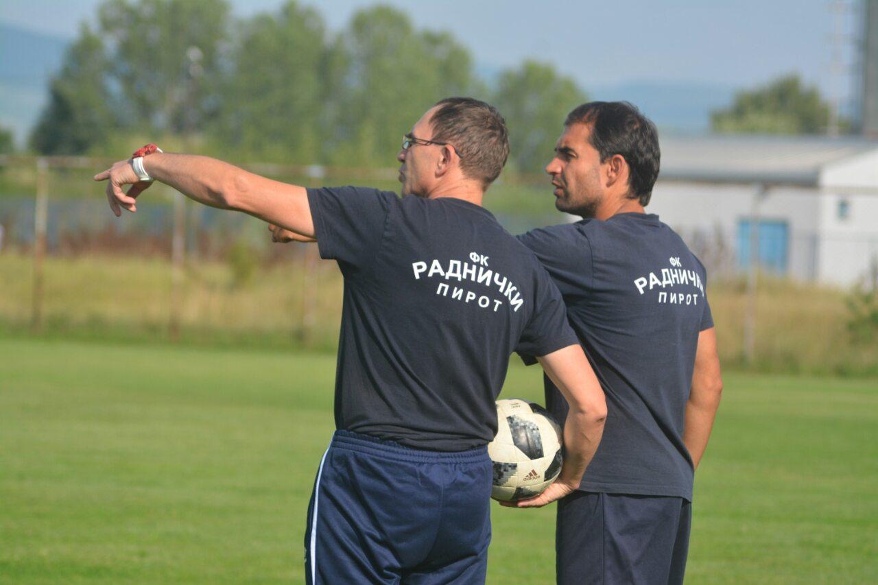 Photo of Marko Mančić i zvanično pomoćni trener Radničkog