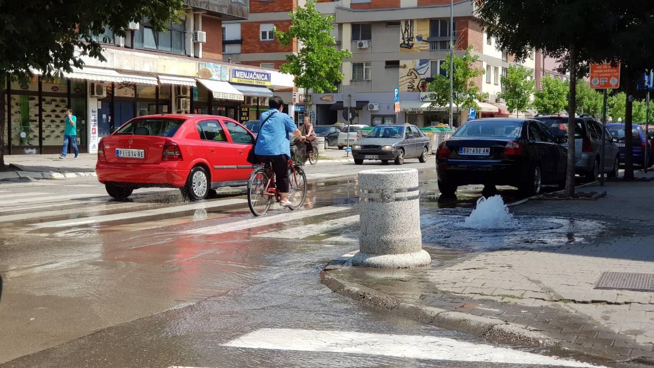 Photo of Deo centra grada bez vode zbog kvara, radnici Vodovoda rešavaju problem