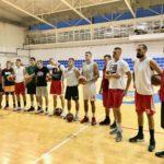 """Košarkaši igrali prijateljsku pripremnu utakmicu u Plovdivu, poraženi od odlične ekipe """"Akademik Bultex"""""""
