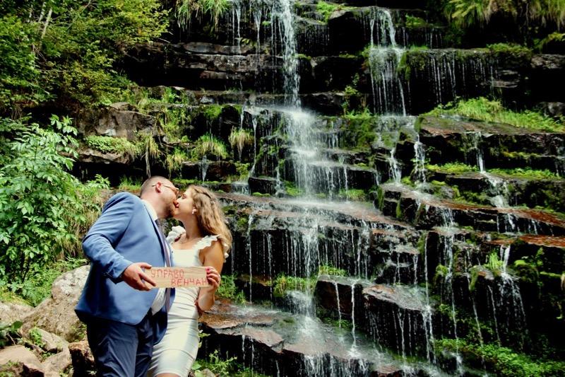 Photo of Prvo venčanje kod vodopada Tupavica u srcu Stare planine