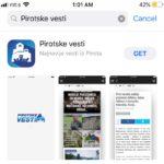 Pirotske vesti i na iPhone uređajima, besplatna aplikacija dostupna na App Store-u