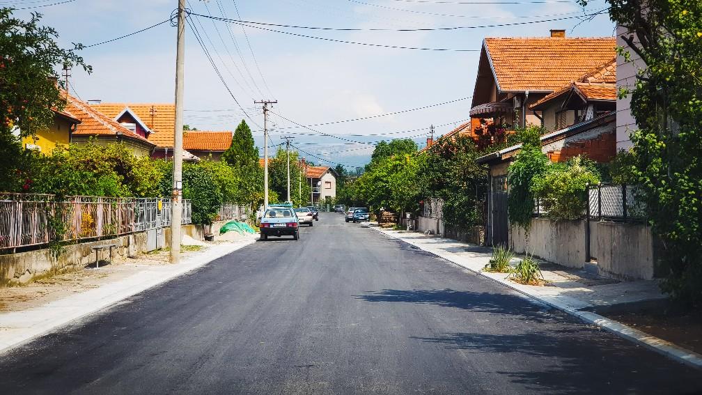 Photo of Ulica Nosioca albanske spomenice nakon rekonstrukcije *FOTO*