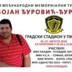 Memorijalni turnir u ženskom fudbalu u znak sećanja na Bojana Đurovića Đuru