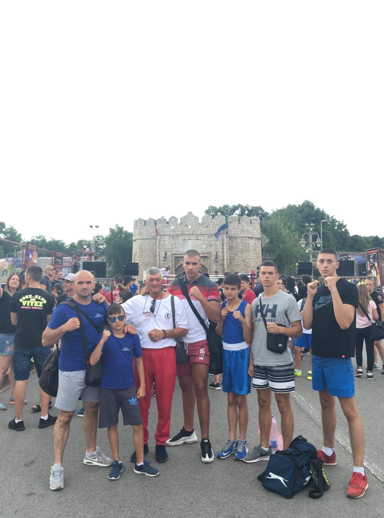 """Photo of Pirotski bokseri na boks – spektaklu u Nišu pod nazivom """"Olimpijska škola boksa"""""""