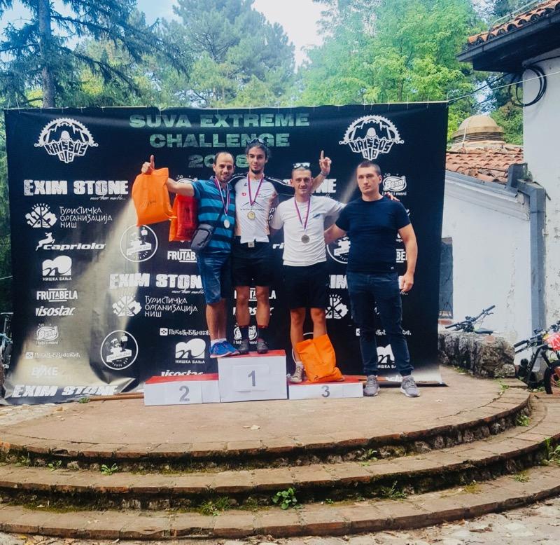Photo of Biciklisti osvojili medalje na trci na Suvoj planini
