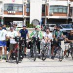 Karavan biciklista na putu od Soluna do Beča prošao kroz Pirot *FOTO i VIDEO