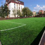 Mini-pič teren kod Tehničke škole renoviran - presvučen novim slojem veštačke trave
