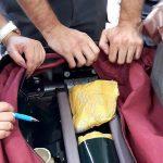 Zaplena na Gradini: Kilogram heroina u duplom dnu putničkog kofera