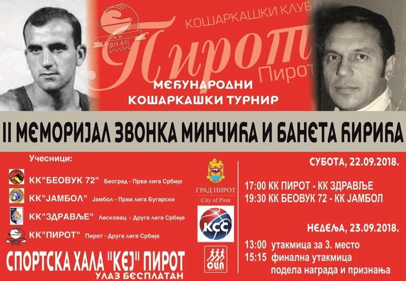 Photo of Memorijal Zvonka Minčića i Baneta Ćirića – sećanje na legende pirotskog sporta