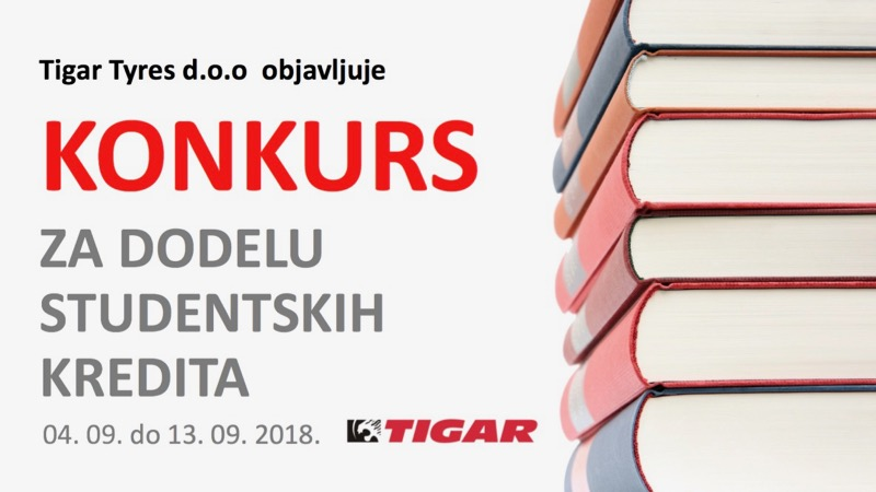 Photo of Tigar tyres raspisao konkurs za studentske kredite