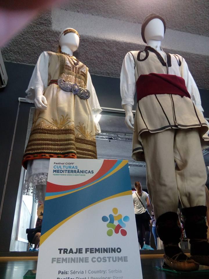 Photo of Pirotski folklorci prezentovali srpske nošnje na izložbi u Lisabonu