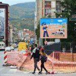 Počela rekonstrukcija trotoara u ulici Knjaza Miloša