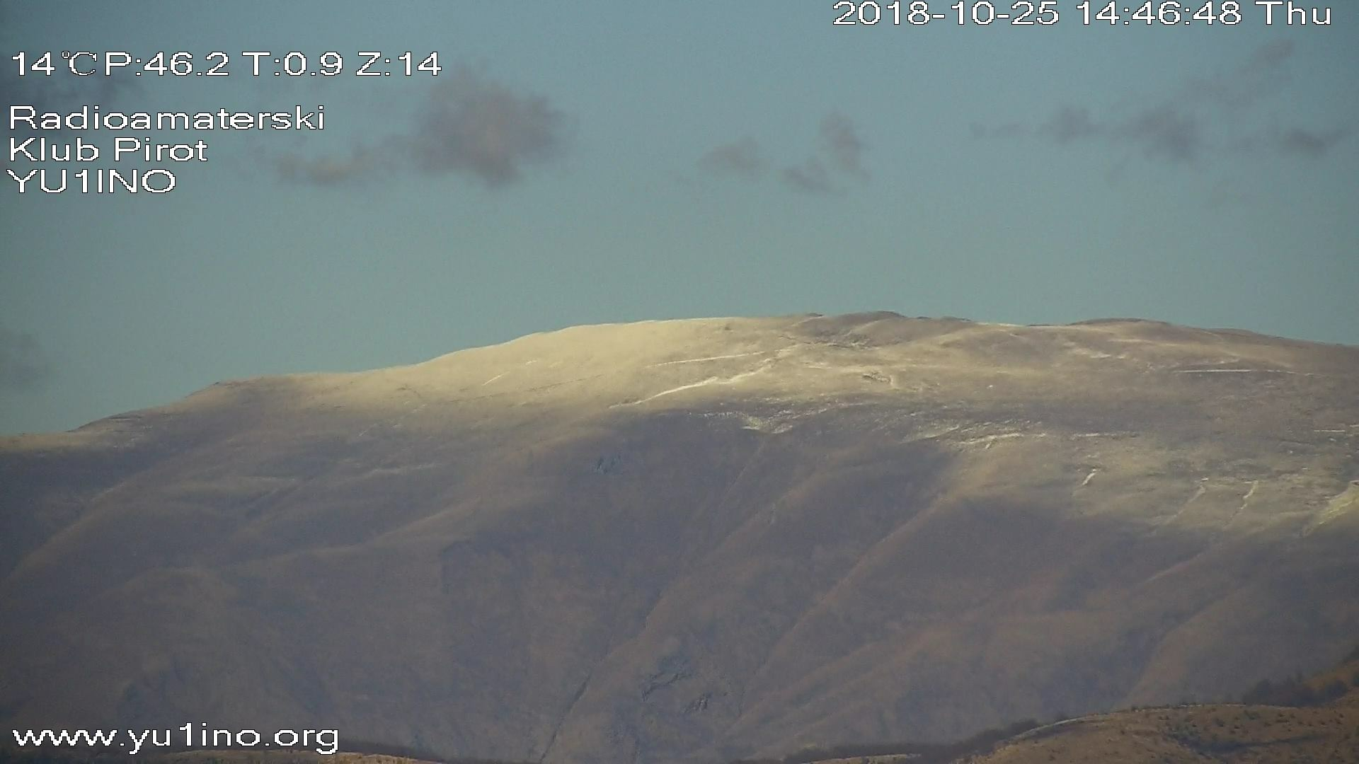 Photo of U gradu Miholjsko leto, na planinskim vrhovima zabeleo se sneg