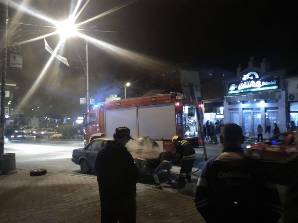 Photo of Zapalio se automobil kod Golemog mosta, nema povređenih