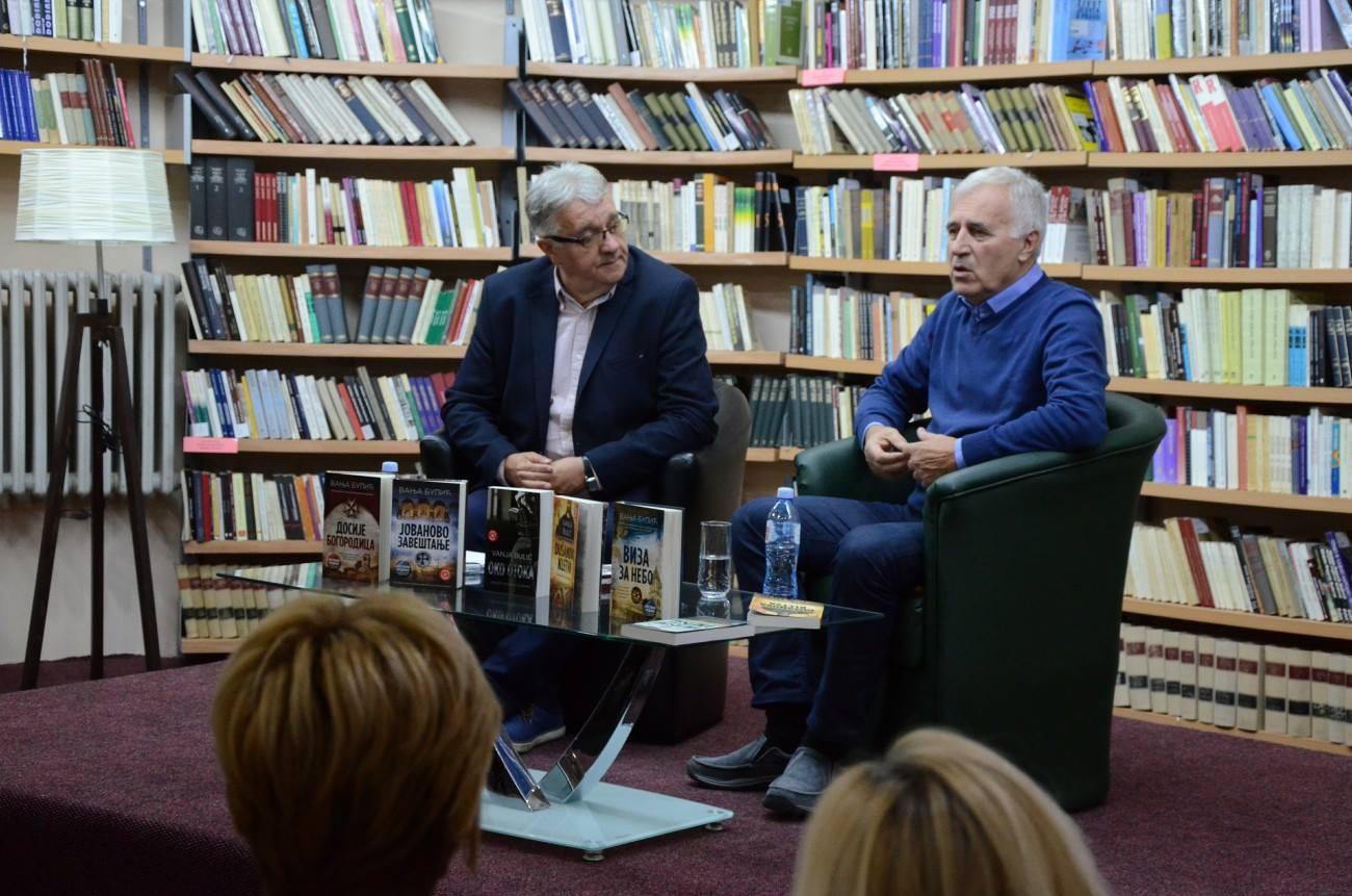 Photo of Vanja Bulić u pirotskoj biblioteci predstavio svoj novi roman