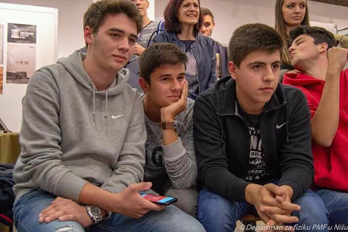Photo of Gimnazijalci zauzeli treće mesto na manifestaciji Noć istraživača u Nišu