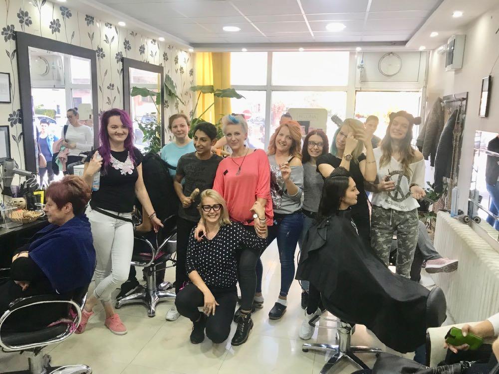 Photo of LEKCIJA iz humanosti: Pirotske frizerke i frizeri organizovali akciju pomoći oboleloj koleginici