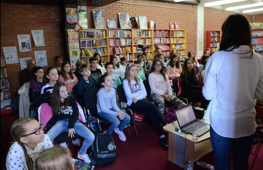 Photo of Druženje s decom u Narodnoj biblioteci Pirot