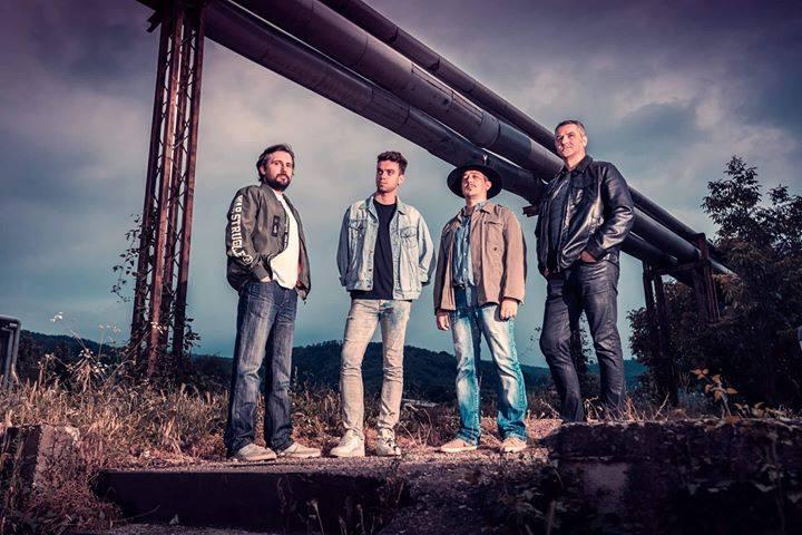 """Photo of """"Ljudi u glavi"""" sviraju u Fuzz studiju u Pirotu 13. oktobra, predgrupa Fayront bend"""