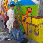 Osnovci oslikali svoj prvi mural