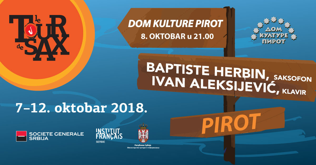 "Photo of ""Tour de Sax"" u Pirotu"