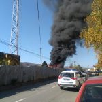 Pirotska železnička stanica: Zapalio se otpad, čule se i eksplozije!